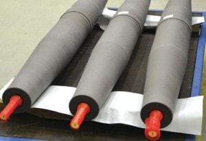 Impregnated cores undergo machining to precise tolerances on CNC machines. RIP 套管工厂专注于 环氧树脂浸纸(RIP)技术 pic62