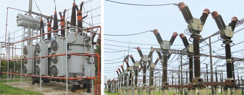 Bradu Pitesti变电站的变压器和老式油断路器, 它们都是上世纪70年代的设备,它们都将被更换掉。 罗马尼亚电网运营商计划改造关键的变电站 罗马尼亚电网运营商计划改造关键的变电站 Pic225