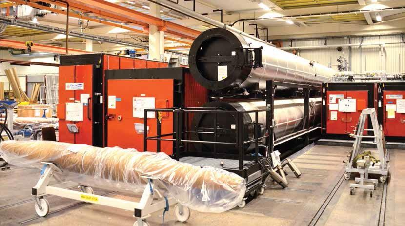 卷芯必须在特殊干燥室内干燥,然 后保护起来防止从环境中吸收额外的潮气 ABB ABB对套管生产及测试的现代化进行投资(第一部分) Article 1 for enewsletter june 9 7