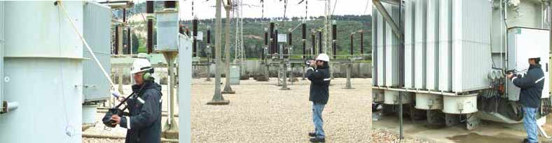 Examples of inspections performed by predictive maintenance specialists bushings Composite Bushings with RTV Coatings Combat Pollution at Substation in Israel inspection