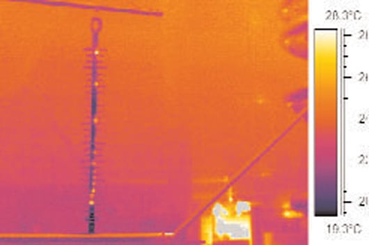 Thermo Measure NCIs for safe live line replacement Live Line Assessing Criteria for Safe Live Line Replacement of Polymeric Insulators Images for Topic 4 4