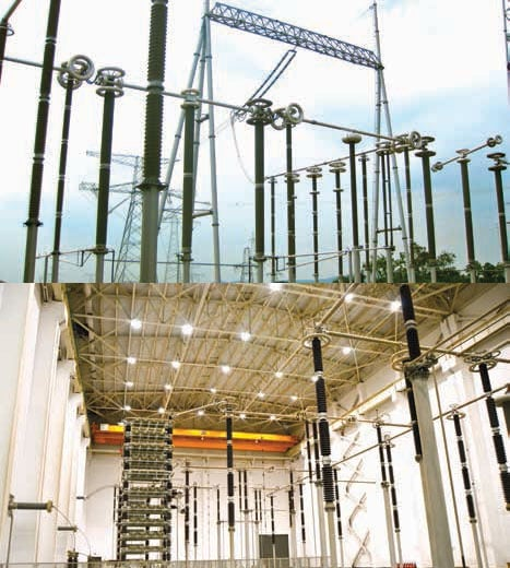 Outdoor-800-kV HVDC Converter Station Resolving External Insulation Problems at HVDC Converter Stations Outdoor 800 kV