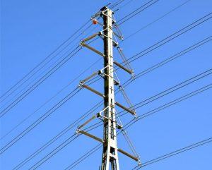 125 kV transmission line to 400 kV