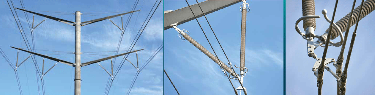 Kassø-Tejle line features only composite insulators for all three types of tower designs. line Aesthetic Design Helped Danish TSO Obtain Approval for New 400 kV Line Screen Shot 2017 09 08 at 16