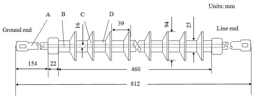 electric field  u0026 voltage distribution along non
