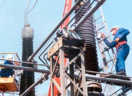 Employing, RTV Silicone Coatings,Flashovers ,Substation , South Africa flashover Flashovers Combatted at South African Substation Topic 5 June 8 08