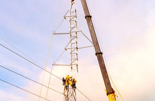 routine test of tower footing resistances