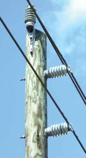 35kV瓷绝缘子用于13.2kV系统电压。 解决配电系统遭受污染和野生动物危害的问题 解决配电系统遭受污染和野生动物危害的问题 Topic 1 July 20 35kv