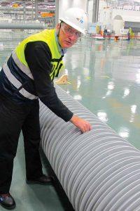 "Dewdney: ""做出改用HTV硅橡胶护套的决 定是基于当地的市场偏好和成本因素。 新工厂将目标对准日益增长的复合空心绝缘子市场 新工厂将目标对准日益增长的复合空心绝缘子市场 Topic 1 Jan 180004"