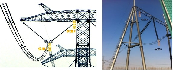 Placement of DC SPS reference insulators on HVDC tower and at converter station. pollution severity Classifying Pollution Severity for HVAC & HVDC in China tpc2 placement