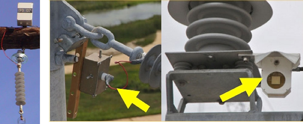 Example of single-channel devices for leakage current monitoring: left – used in South Africa; right – used in USA (photo adopted from the ISH paper D-3 from 2009). pollution monitoring Pollution Monitoring for Improved Insulator Selection Screen Shot 2016 02 08 at 11