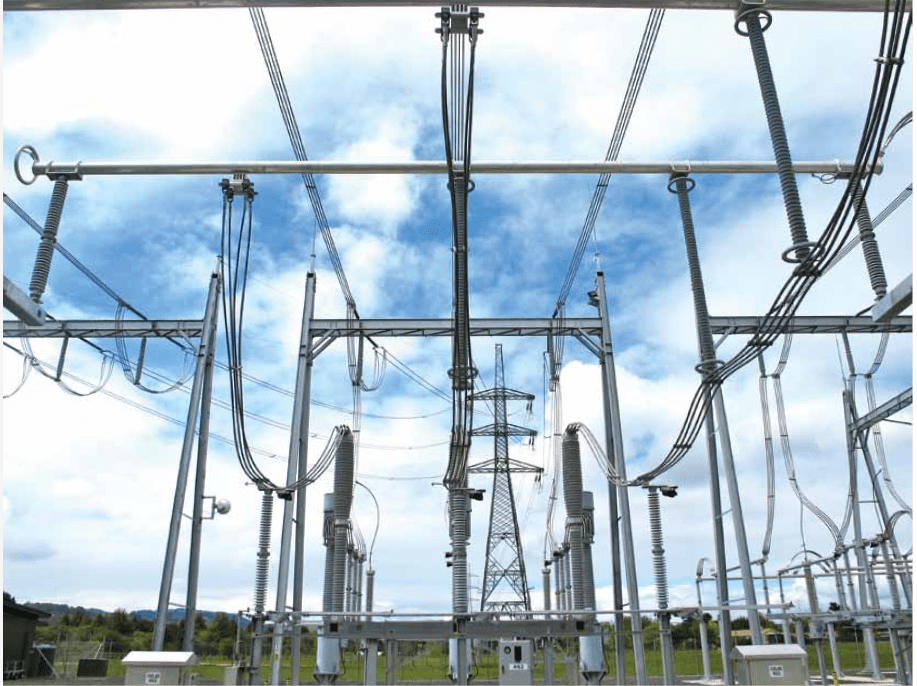 Utility develop under hung busbar as step toward new for Substation design