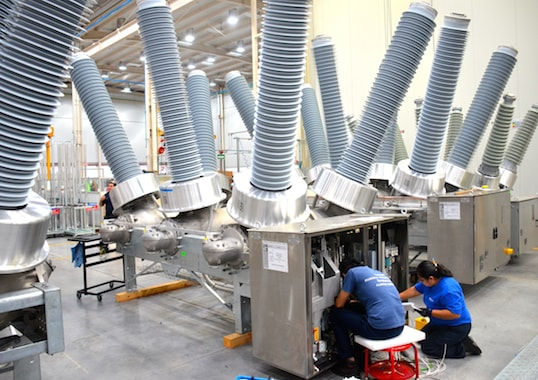 circuit breaker Factory in Mexico Focuses on HV Circuit Breakers & Components Photo for Article linked to bottom photo May 9