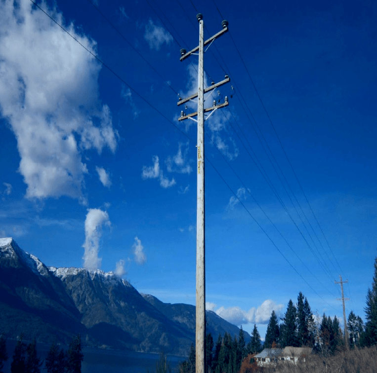 Typical Installation at FortisBC. station class arrester Application of Station Class Arresters on Underbuilt Distribution Lines Screen Shot 2016 05 13 at 11