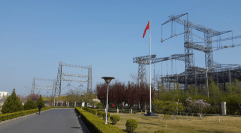 Fig. 2: 1200 kV bi-polar DC line in China. composite insulators Line Compaction Using Composite Insulators: Current Situation & Future Outlook Screen Shot 2016 05 20 at 11