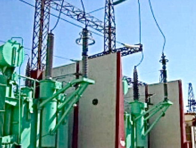 Fig. 8: Example of silicone-housed RIP bushing installed on 230/115/13.8 kV transformer. housed bushings Polymeric Housed Bushings: Utility Viewpoint in a Regulated Market Screen Shot 2016 06 17 at 10