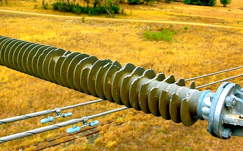 3. Birds in northeastern Australia have used this line post to exercise powerful beaks (photo courtesy of Powerlink). insulator Bad Things Can Happen to Insulators Bad things 3 1