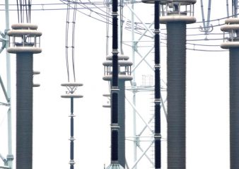 Scale of hollow composite insulators now available is illustrated by Shenma founder Ma Bin. 1000 kv 1000 kV Substation Features Composite GIS Bushings Photo for Topic 5 Aug 23 1 338x239   Photo for Topic 5 Aug 23 1 338x239