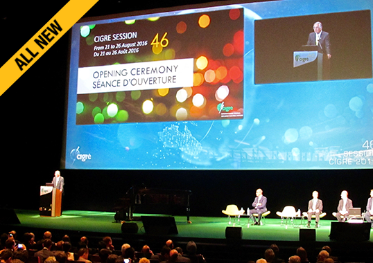 cigre Recent General Session of CIGRE ALL NEW 1