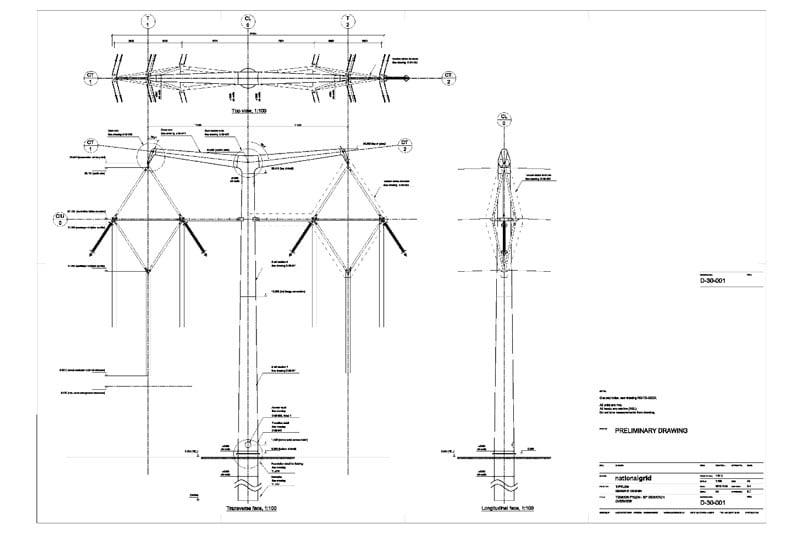 Composite Insulator Design for New U.K. Transmission Lines transmission lines Composite Insulator Design for New Transmission Lines in the U.K. D30 Tension Tower