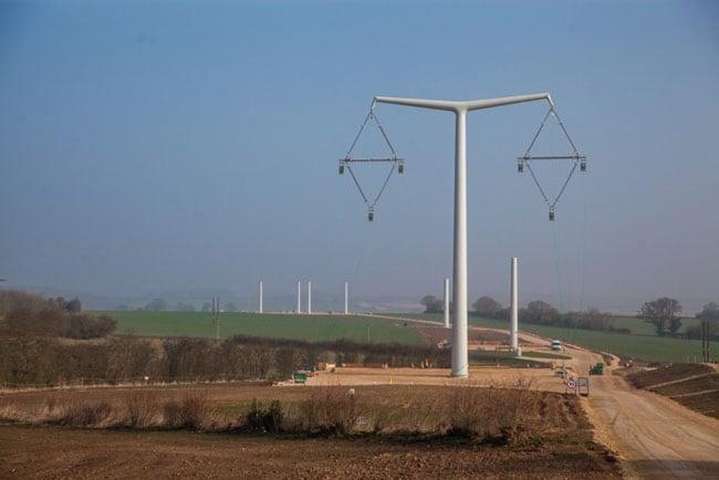 Composite Insulator Design for New U.K. Transmission Lines transmission lines Composite Insulator Design for New Transmission Lines in the U.K. Eakring Training facility