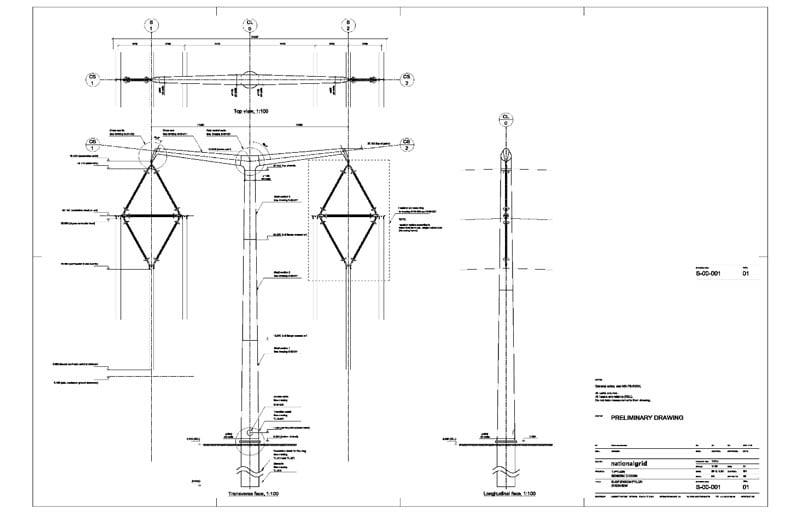 Composite Insulator Design for New U.K. Transmission Lines transmission lines Composite Insulator Design for New Transmission Lines in the U.K. Suspension Tower