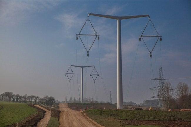 Composite Insulator Design for New U.K. Transmission Lines transmission lines Composite Insulator Design for New Transmission Lines in the U.K. Suspension Towers