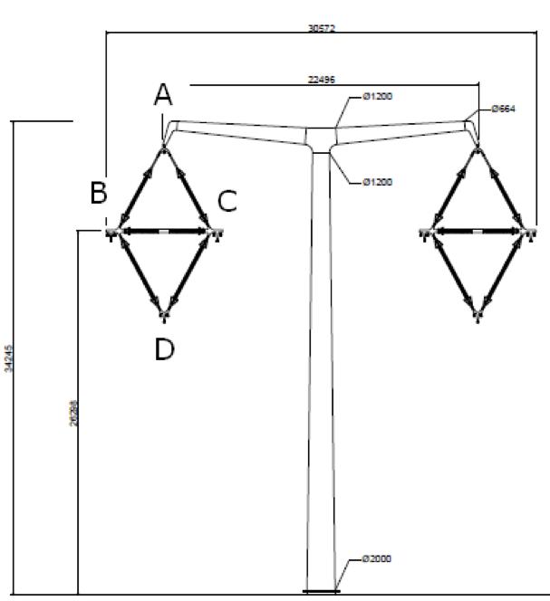 Composite Insulator Design for New U.K. Transmission Lines transmission lines Composite Insulator Design for New Transmission Lines in the U.K. T Pylon tower