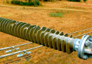 composite insulator Selection Criteria & Live Line Maintenance of Composite Insulators at Australian Utility Bird damage 110 kV horizontal  130x90