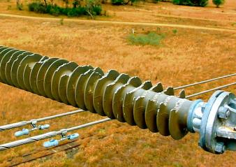 composite insulator Selection Criteria & Live Line Maintenance of Composite Insulators at Australian Utility Bird damage 110 kV horizontal  338x239   Bird damage 110 kV horizontal  338x239