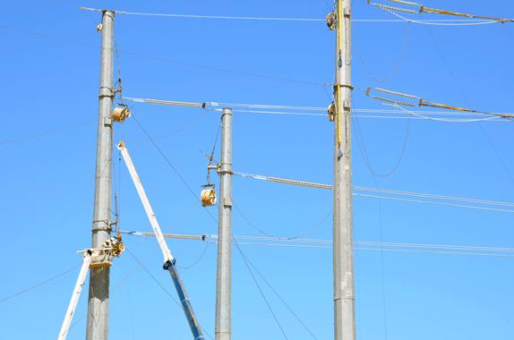 500 kV Line Allowed U.S. Utility to Compare Performance of Glass Insulators & Hardware 500 kv 500 kV Line Allowed U.S. Utility to Compare Performance of Glass Insulators & Hardware 500 kV Line