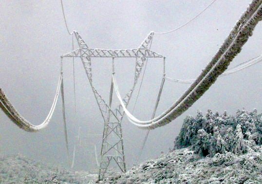 transmission line Impact of Icing on Transmission Lines Photo for Topic 6 Sept 25