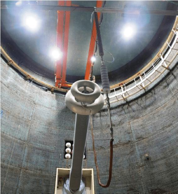 hvdc line Design & Installation of Composite Insulators for New ±525 kV DC Line Short insulator