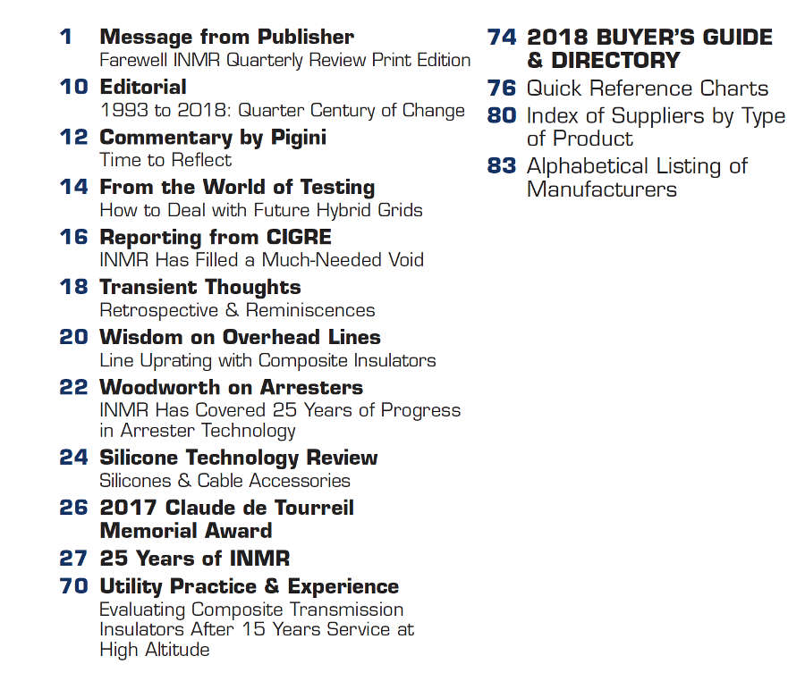publication,subscribe,magazine,issue The Publication Issue 118 Contents