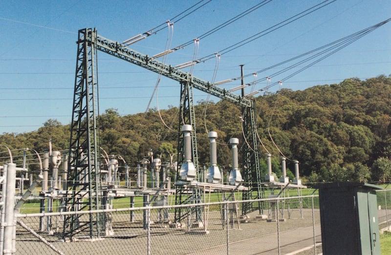 substation Substation Focused on Environmental Design Portal structures at 330 kV and 132 kV