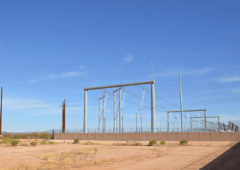 surge voltage Switching Surge Voltage Reduction with Line Arresters Helped Overcome Critical Clearances on 500 kV Lines transmission tower 338x239   transmission tower 338x239