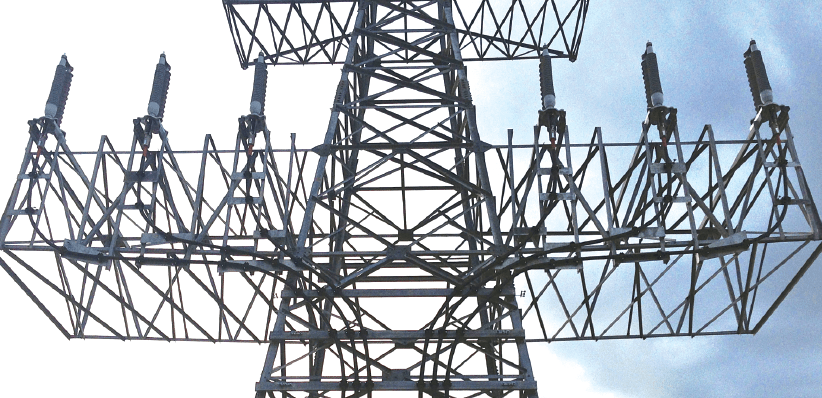 cable termination Dry Type Cable Terminations up to 170 kV 170 kV dry type outdoor cable termination installed on tower