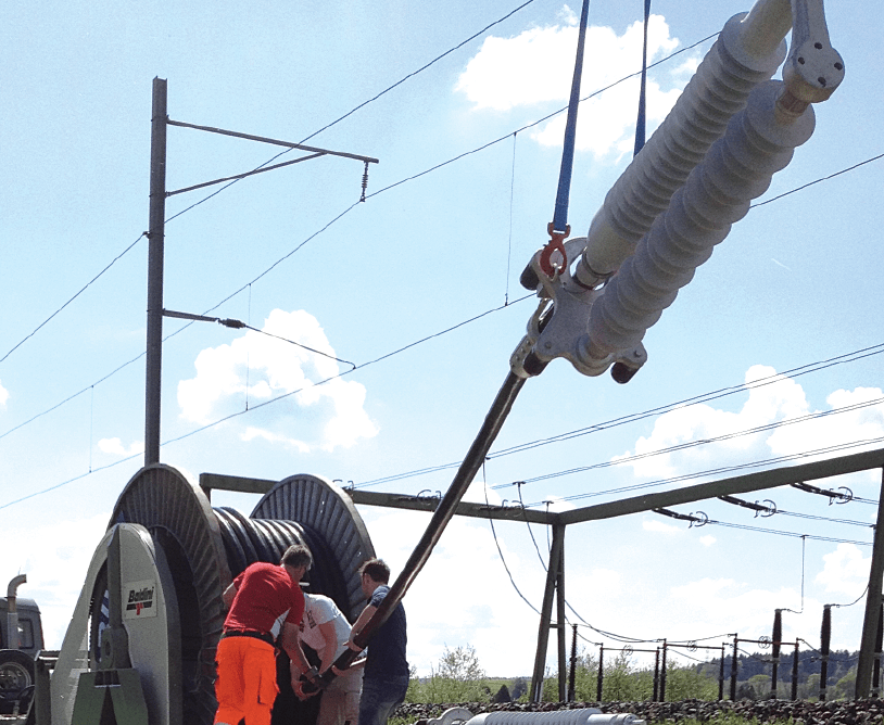 cable termination Dry Type Cable Terminations up to 170 kV Movable preassembled energy back up solutions for easy and quick installation to bypass transmission lines