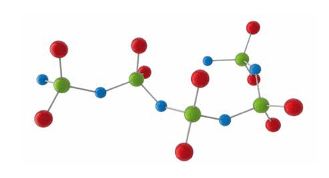 properties of silicone Chemistry & Properties of Silicones Ball model of polydimethylsiloxane PDMS