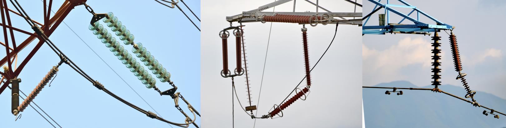 line arrester Utility Reduced Lightning Outages with Line Arrester Investment Program Examples of EGLA