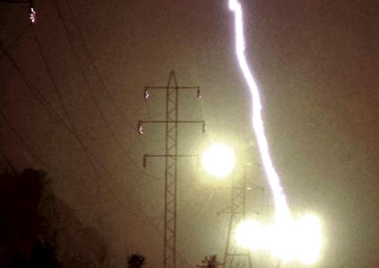 power line Hazards of Lightning on Power Lines Hazards of Lightning on Power Lines