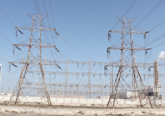 insulator Coating Porcelain Line Insulators to Prevent Pollution Flashover Pollution from Al Zoor Power Station combines with contaminants from nearby dry salt lake   Pollution from Al Zoor Power Station combines with contaminants from nearby dry salt lake