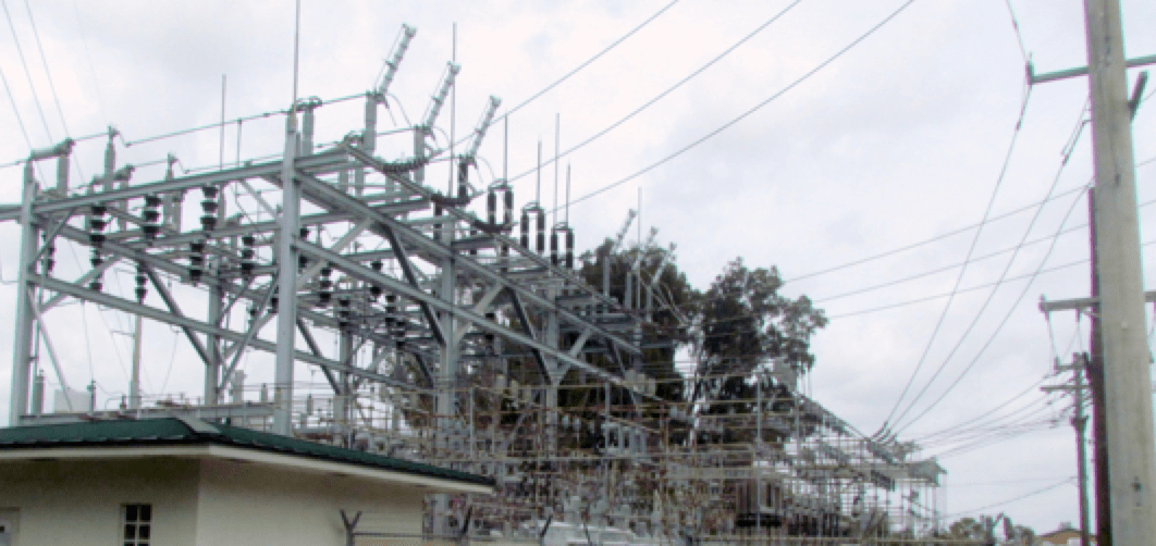 surge protection Substation Surge Protection Distribution substation with only mast protection
