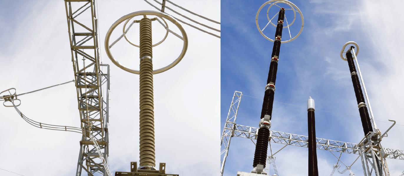 Two HV arrester technologies employed at same EHV substation in South Africa. HV Arrester Development of Station Class/HV Arrester Technology Screen Shot 2018 09 28 at 18