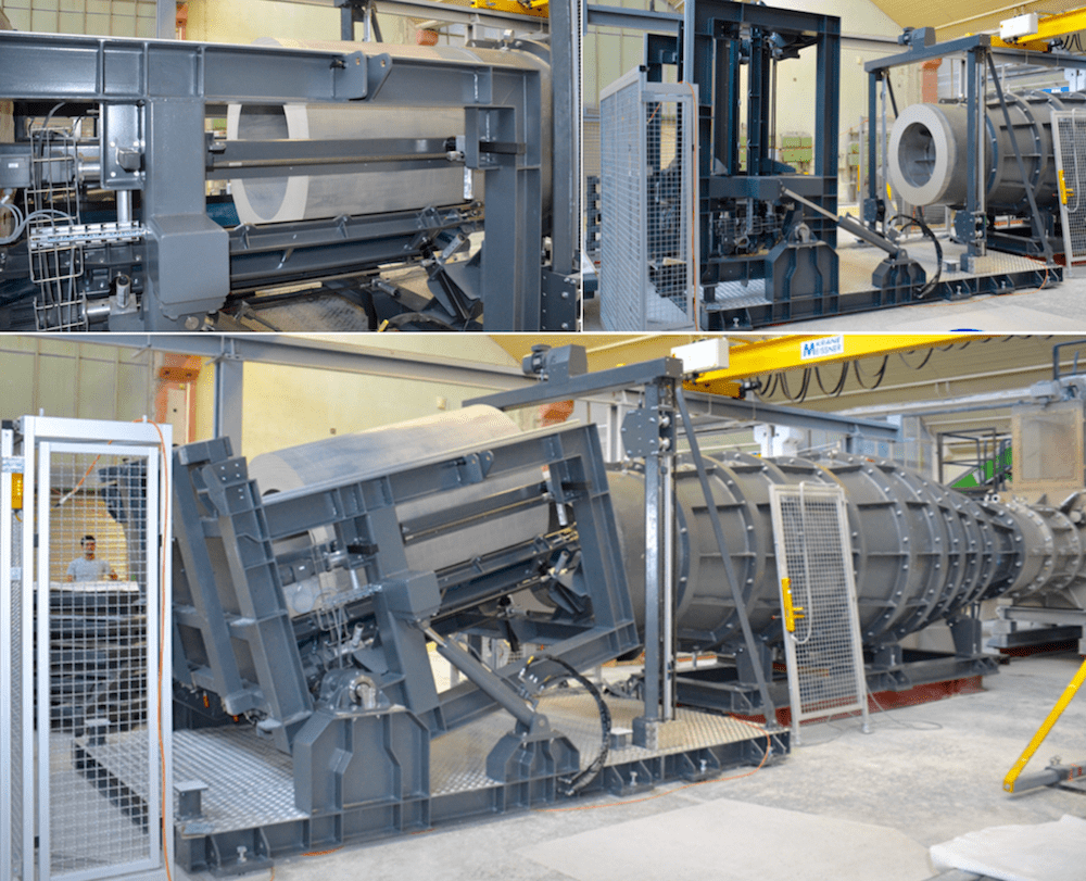 porcelain insulator Porcelain Insulator Plant Invests in Expanded Production Capabilities Hollow pug moves through extruder and lifted vertically