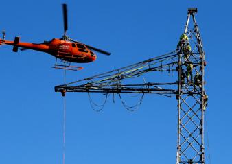hvdc line Design & Installation of Composite Insulators for New ±525 kV DC Line Photo for Topic 1 Dec   Photo for Topic 1 Dec