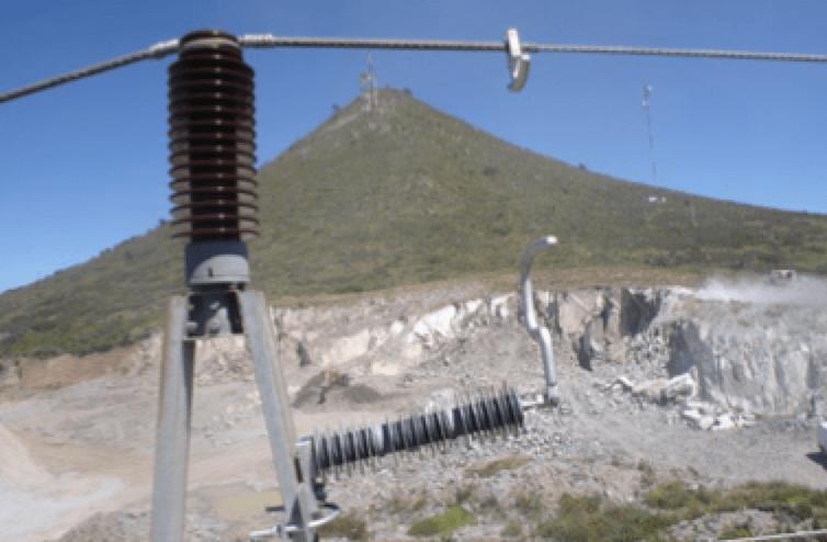 EGLA Type Line Arresters at 85 kV. EGLA Type Line Arrester Field Experience with EGLA Type Line Arresters in Mexico EGLA at 85 kV