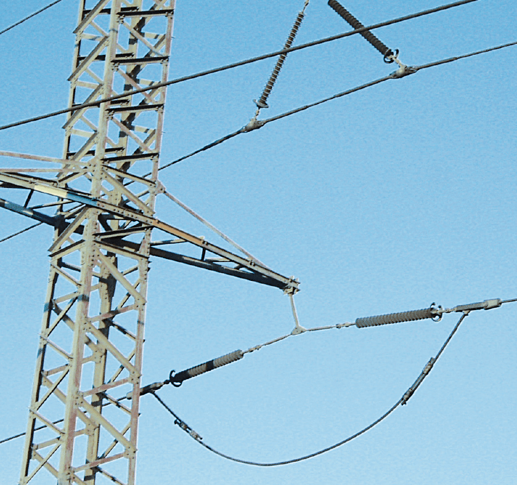 Compact Line Compact HV Lines in Israel Combined tension suspension string