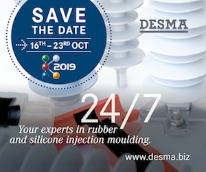 Desma Advertisement dc line Shielding Electrodes for AC & DC Line Insulators Desma banner Apr 26