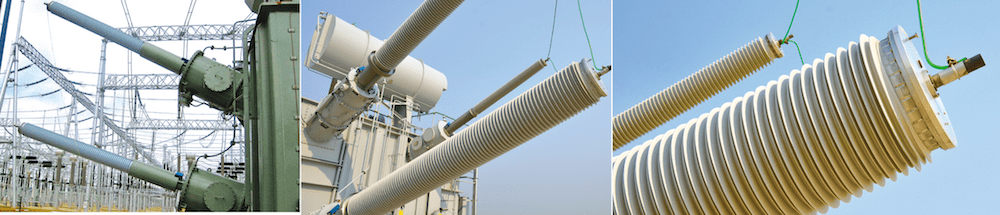 bushings Bushing Technology Review Transformer bushings at UHV HVDC substations 1